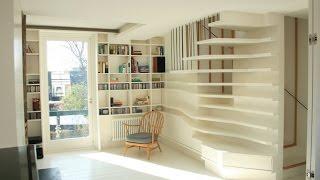 Unique Artistic Apartment Design : The Woven Nest Penthouse by Atmos Studio