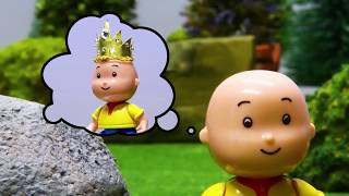 CLOUDY DAY | Caillou Stop Motion Cartoons for kids | Funny Animated Cartoons for Children