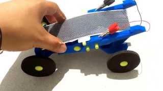 Solar Powered Car EV toy