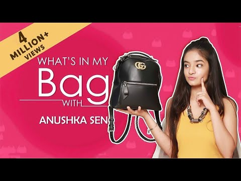 Xxx Mp4 What's In My Bag With Anushka Sen Exclusive India Forums 3gp Sex