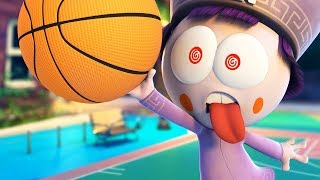 Funny Animated Cartoon | Spookiz | The Ultimate Basketball Competition | 스푸키즈 | Cartoon for Children