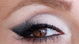 """Kolay Kedi Gözü Makyajı """"Cat eyes make-up"""""""
