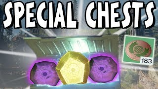 Destiny 2: ALL 20 HIDDEN SPECIAL CHESTS AT EDZ!