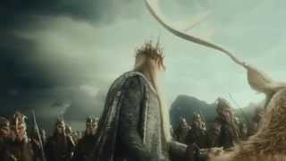 The Hobbit: An Unexpected Journey - Smaug attacks Erebor