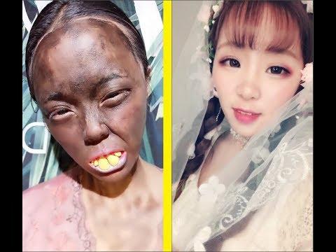 Vịt hóa thiên nga Đỉnh cao của Makeup Makeup beauty magical Don t Judge Challenge Part 14