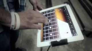 Firoz langa in India's 1st I-pad band.