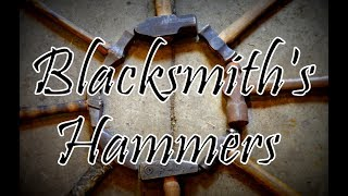 Blacksmith Hammers and Uses // Types of Forging Hammers