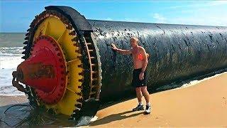 15 شيئا غريبا وُجدت على السواحل والشواطئ حول العالم !!