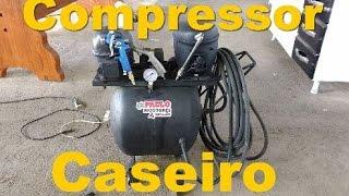 Compressor de ar caseiro faça já o seu Ótimo custo!