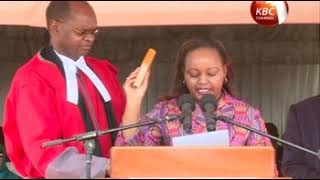Ann Waiguru, Joyce Laboso sworn into office