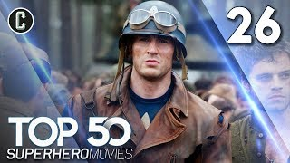 Top 50 Superhero Movies: Captain America: The First Avenger - #26