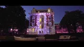 Magnum Pink & Black Night Amsterdam 2015 - Lighting up the canals