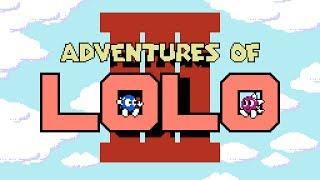 Adventures of Lolo 3 - NES Gameplay