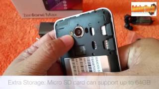 ASUS Zenfone Max - Unboxing and Gaming Test