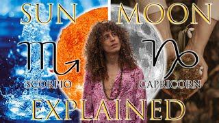 ☉ Sun in Scorpio ☽ Moon in Capricorn
