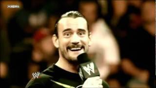 WWE Money in The Bank 2011 - Cm Punk vs John Cena Promo