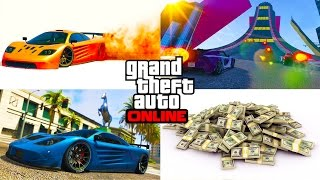 New GTA 5 DLC Spending Spree - CUSTOMIZING NEW CARS & NEW Rockstar MONEY Races - GTA 5 Funny Moments