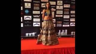 SIIMA awards nayanthara and nithya menon entry(Singapore)