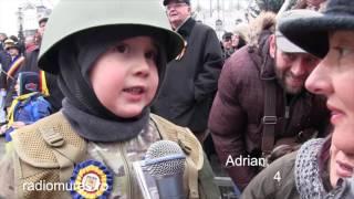 Discurs din Linia Întâi ținut de un băiețel de 4 ani, la Tg Mureș
