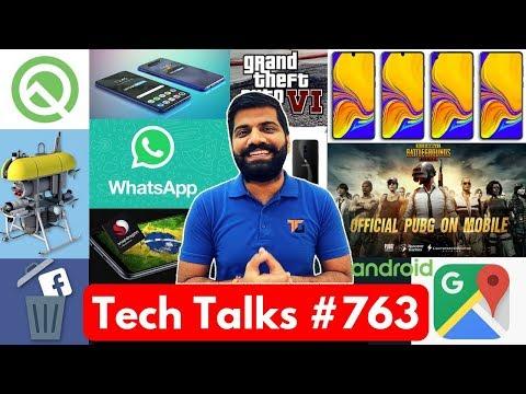 Tech Talks 763 PUBG India Arrest GTA 6 Whatsapp Down Android Q Google Ads P30 Pro Oppo Reno