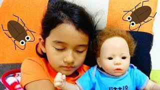 赤ちゃんのベッドにゴキブリが>< 赤ちゃんのお世話☆himawari-CH