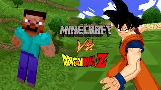 Minecraft meets DBZ! Steve vs Goku | DBZ Tenkaichi 3 (MOD)