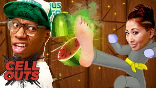SMELLY FOOT FRUIT NINJA (Cell Outs)