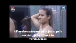 #ParabensAryane