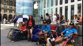 В Нью-Йорке уже выстроилась очередь за iPhone 6