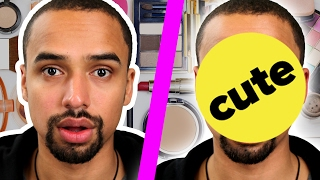 Guys Try Natural Makeup Looks From A Professional
