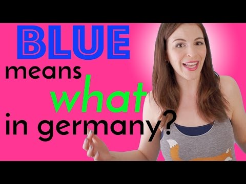 Different Color Meanings in GERMAN &