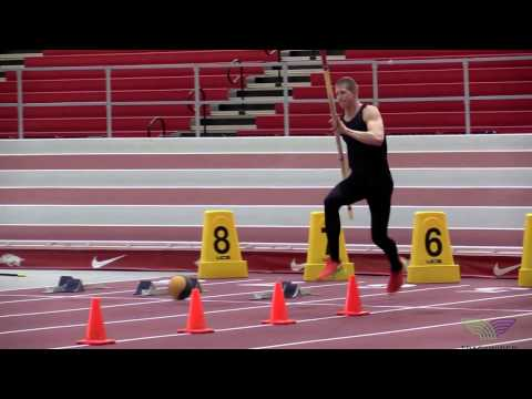 HOW TO POLE VAULT Cone Drills with Pole