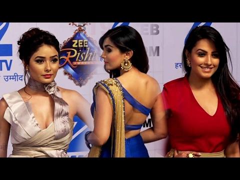 Xxx Mp4 Zee Rishtey Awards 2017 Red Carpet Sanskari TV Bahus Hot Avatar Anita Hassanandani Sriti 3gp Sex