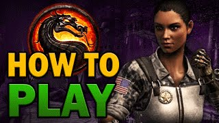 How to Play: JACQUI BRIGGS (Every Variation) - Mortal Kombat X [HD 60fps]