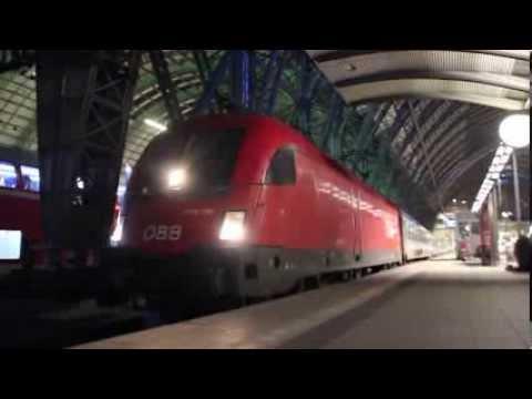 ÖBB 1116 Taurus (Siemens ES64U2) Frankfurt Hbf Abfahert