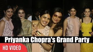 Priyanka Chopra's Grand Party For Bollywood Celebrities | Viralbollywood