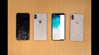 SquareTrade iPhone X Breakability