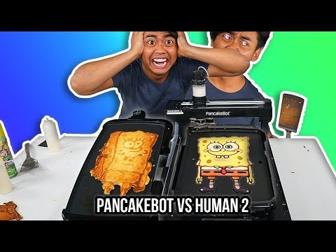 Xxx Mp4 I Tried To Pancake Art Vs A Pancake Art Robot Round 2 3gp Sex