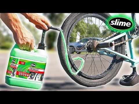 What happens if you FILL a TIRE with ONLY SLIME!