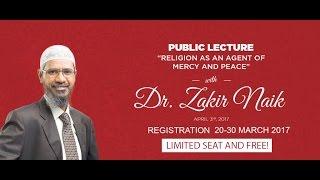 Public Lecture with Dr. Zakir Naik