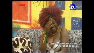 LA BOMBE CAMER INVITEE DE DBS TV  2EME PARTIE