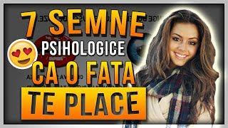 7 SEMNE PSIHOLOGICE care indica faptul CA O FATA TE PLACE - Cum sa stii daca o fata te place sau nu!