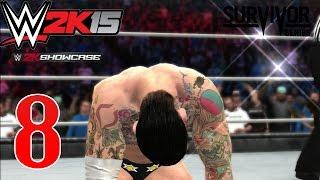 WWE 2K15 2K Showcase #008 [HD/60FPS] - Cm Punk vs del Rio SS 2011   Hustle Loyality, Disrespect