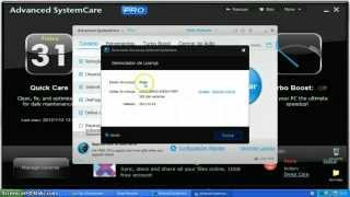 Advanced SystemCare Pro 6.4  [License Key] - Valid 15/10/2015! Complete Ativation!