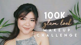 GLAM LOOK ✨ UNDER 100K MAKEUP CHALLENGE | Alexandra Elma