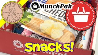 MunchPak Monthly Snack Food & Candy Subscription Box