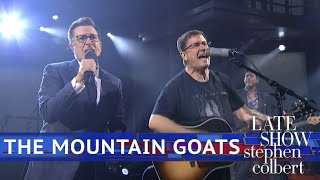 Stephen Colbert Joins The Mountain Goats To Perform 'This Year'