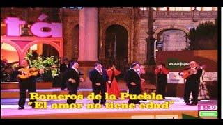 Los Romeros de la Puebla cantan la sevillana