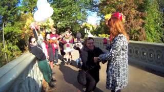 Oscar Oida's New York Autumn marriage proposal to Mj Marfori