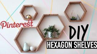 DIY PINTEREST HEXAGON SHELVES w/HealthNut Nutrition